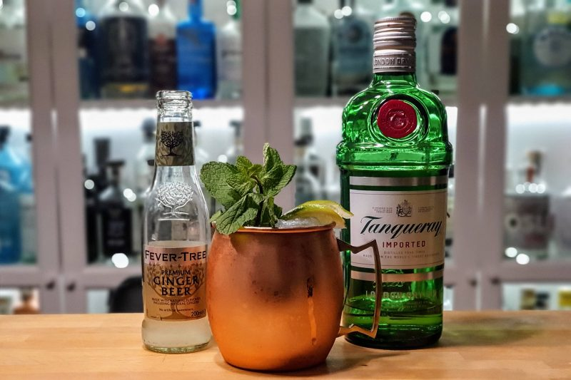 Mint Julep med Tanqueray London Dry Gin