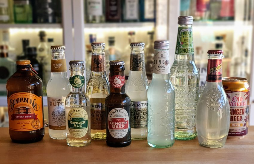 Test av ingefærøl ginger ale ginger beer