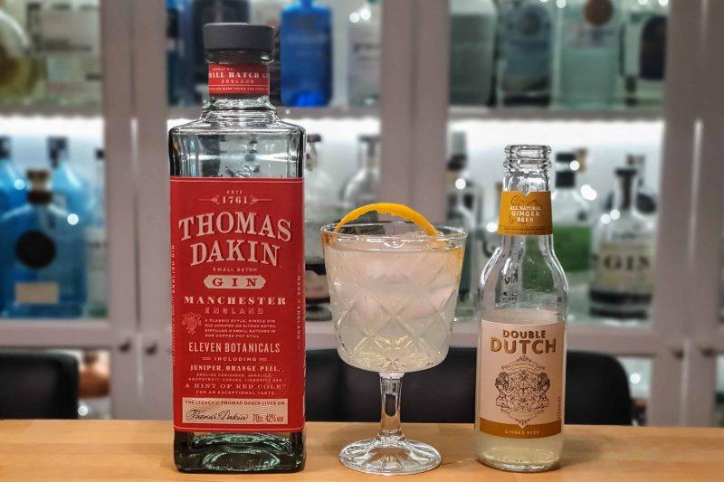 Thomas Dakin Gin med ingefærøl