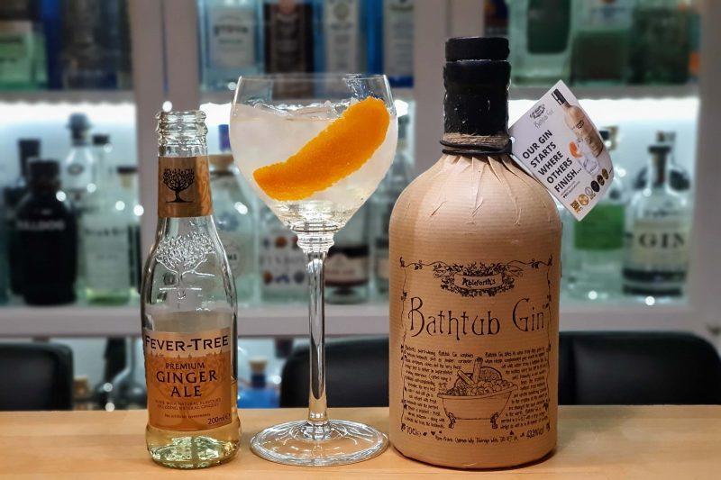 Bathtub Gin og Ginger Ale