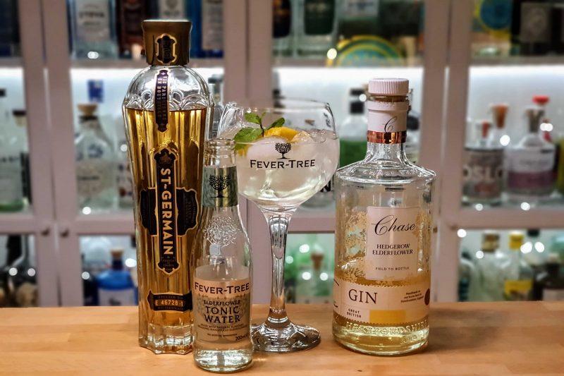 Hylleblomst Gin og Tonic