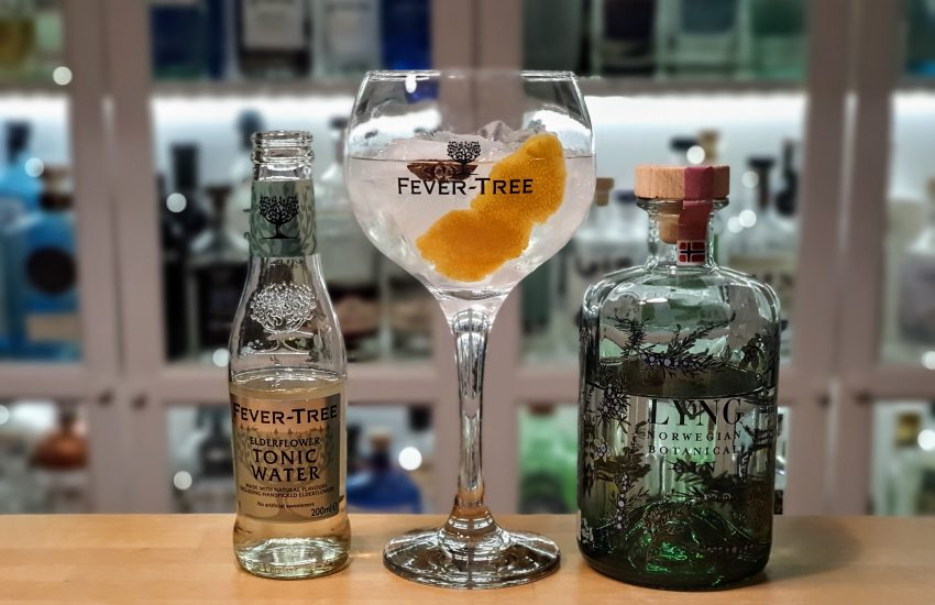 Gin Tonic med Lyng Norwegian Botanical Gin