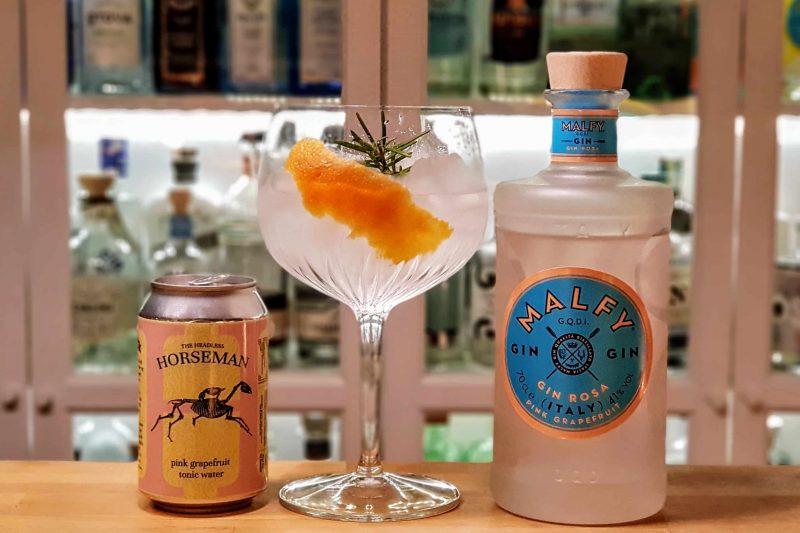 Gin-Tonic med Malfy Gin Rosa
