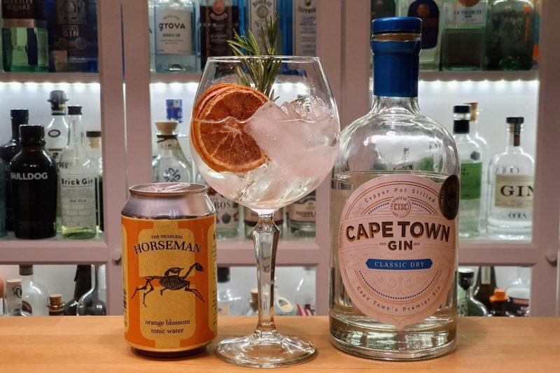 Gin og Tonic med Cape Town Classic Dry Gin