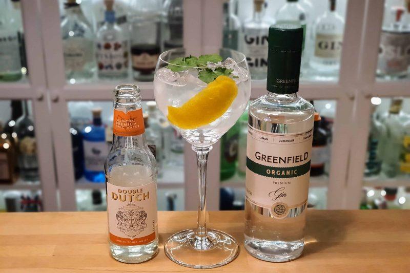 Gin og Tonic med Greenfield Organic Gin