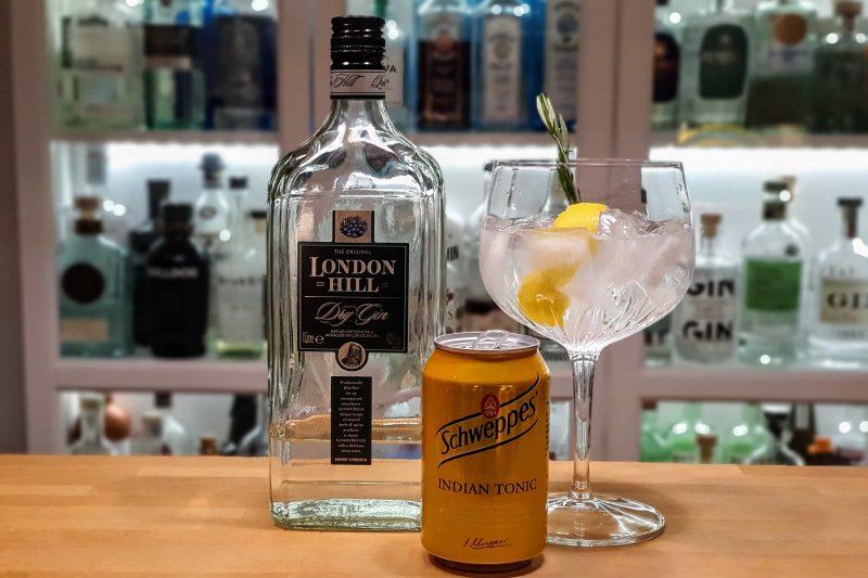 Gin og Tonic med London Hill Dry Gin