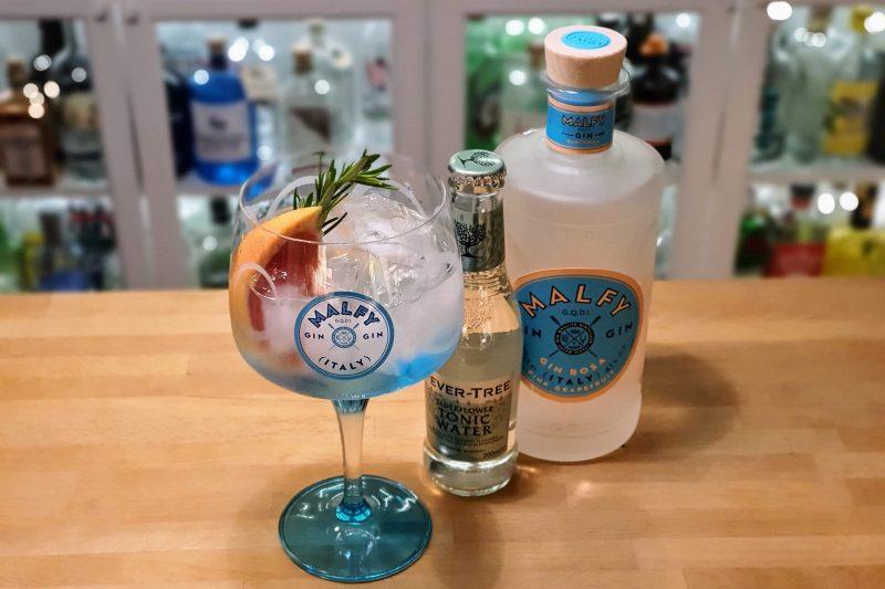 Gin og Tonic med Malfy Gin Rosa