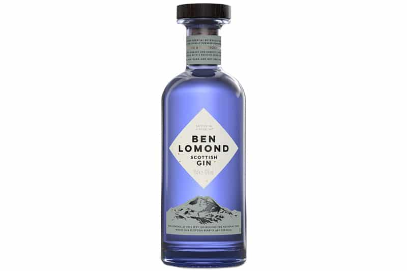 Nye gin på vinmonopolet januar 2021 Ben Lomond Gin