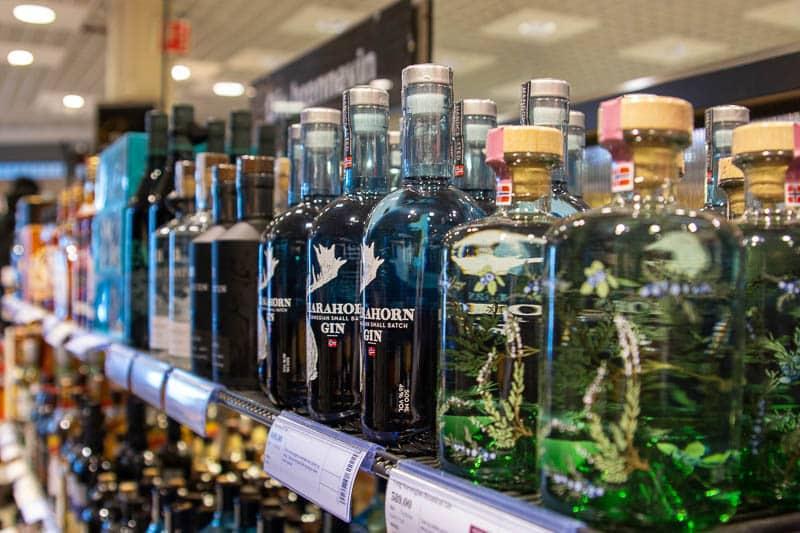 mest solgte gin på Vinmonopolet i 2020