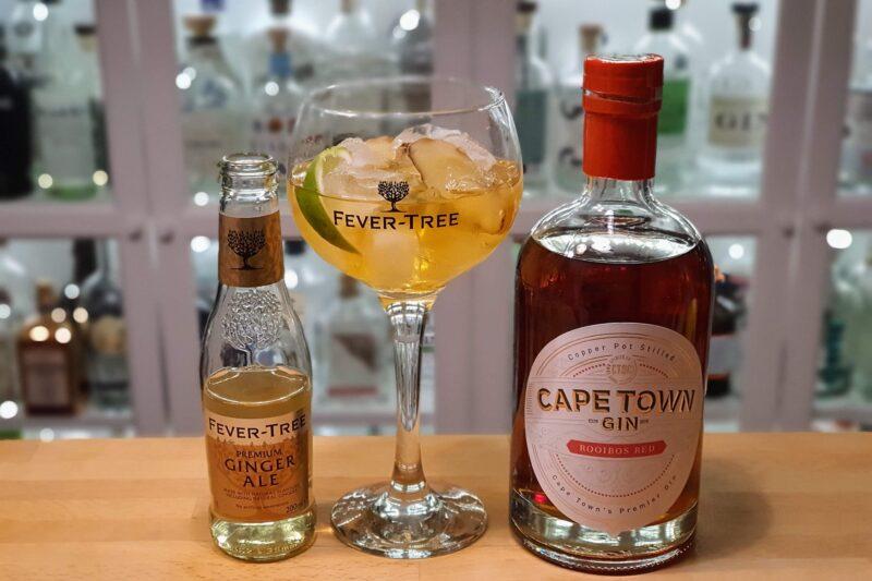 Cape Town Rooibos Red Gin med ingefærøl