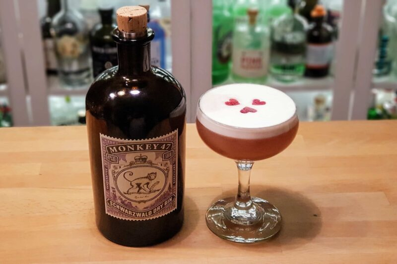 Clover Club med Monkey 47 Gin
