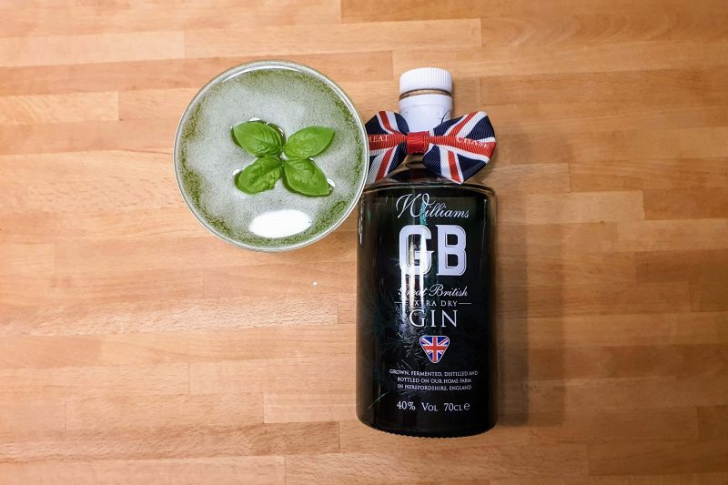 Gin Basil Smash med Williams GB Extra Dry Gin