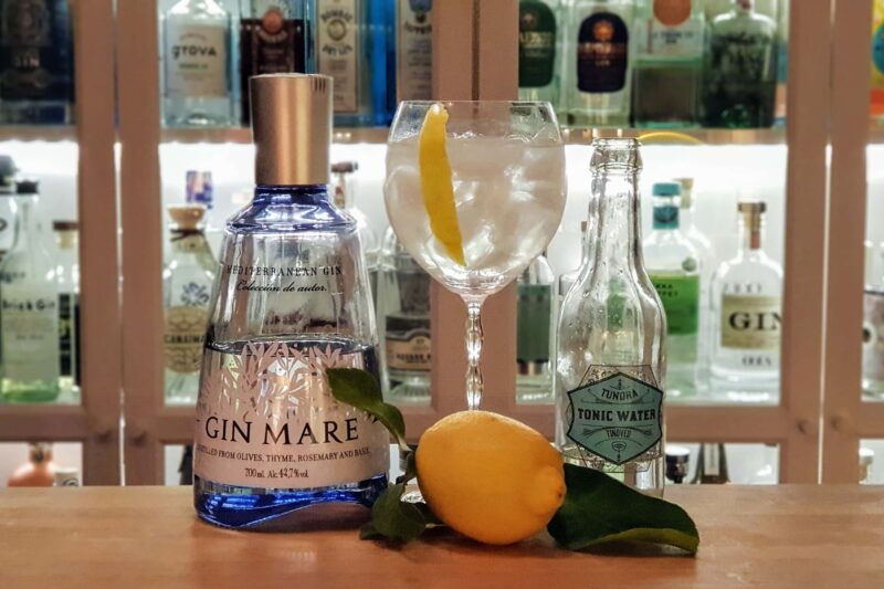 Gin Mare og Tonic med Amalfi sitron