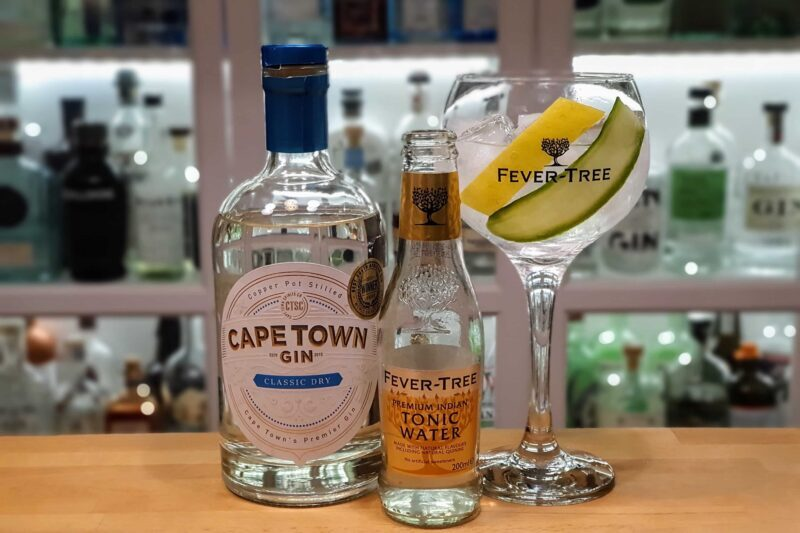 Gin-Tonic med Cape Town Classic Dry Gin