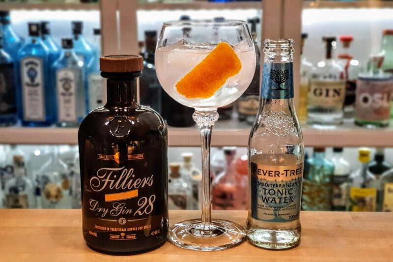 Gin Tonic med Filliers Dry Gin
