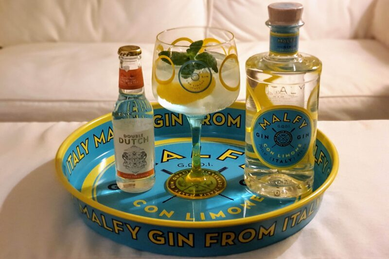 Gin-Tonic med Malfy Gin Con Limone