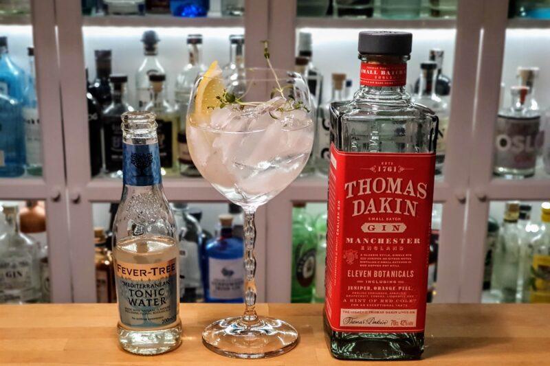 Gin-Tonic med Thomas Dakin Gin
