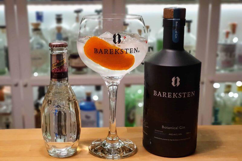 Gin og Tonic med Bareksten Gin