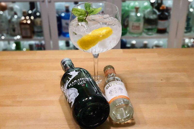 Gin og Tonic med Harahorn White Lemon