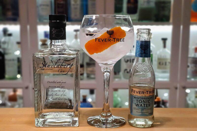Gin og Tonic med Studlaberg Gin