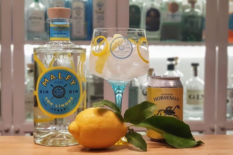 Malfy Gin Con Limone og Tonic med Amalfi sitron