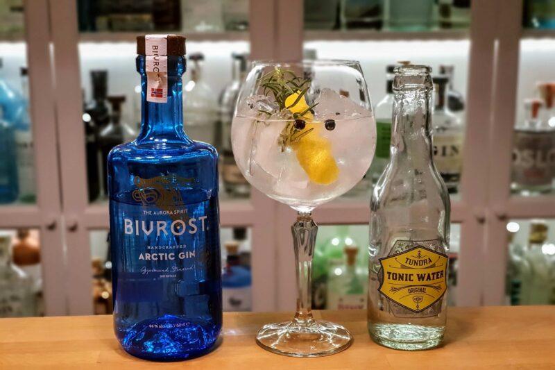 G&T med Bivrost Arctic Gin