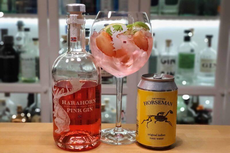 GT med Harahorn Pink Gin