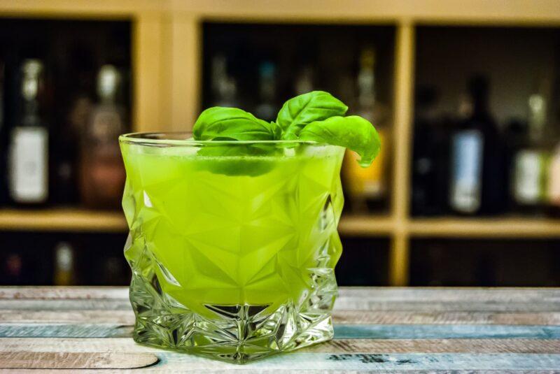 Gin-Basil Smash