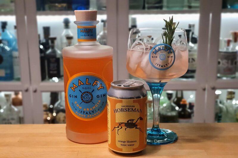 Gin Tonic med Malfy Gin Con Arancia
