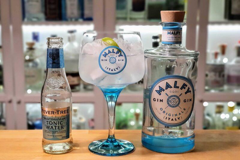 Gin Tonic med Malfy Gin Originale