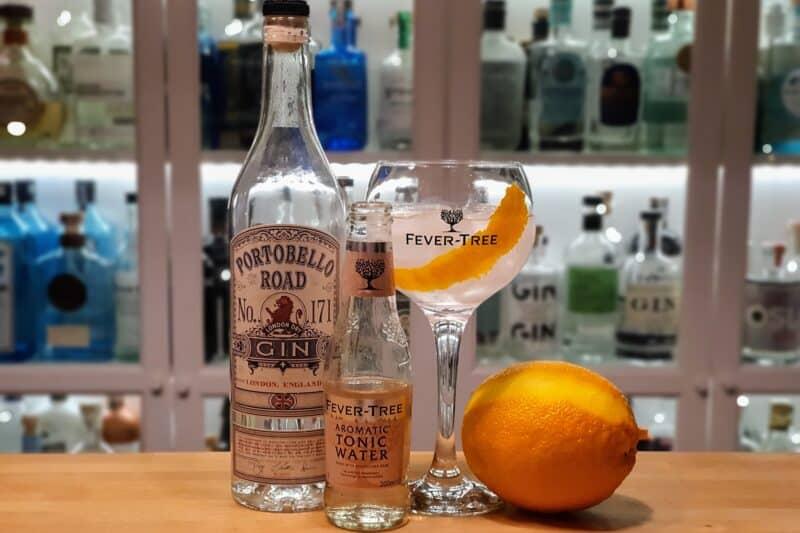 Gin Tonic med Portobello Road Gin No. 171