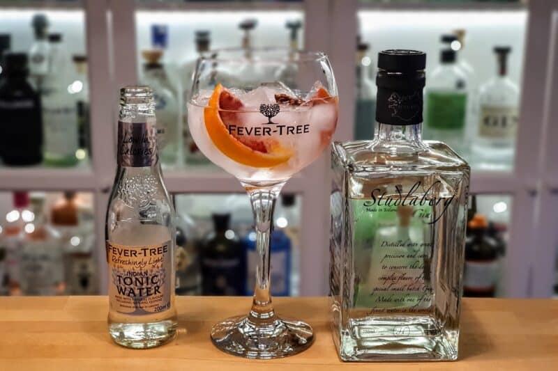 Gin-Tonic med Studlaberg Gin