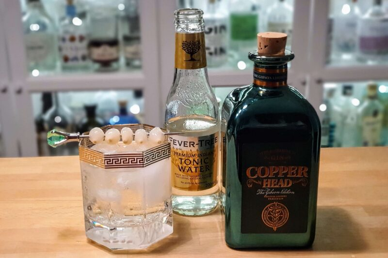 Gin og Tonic med Copperhead The Gibson Edition