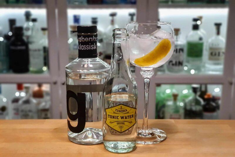 Gin og Tonic med København klassisk gin