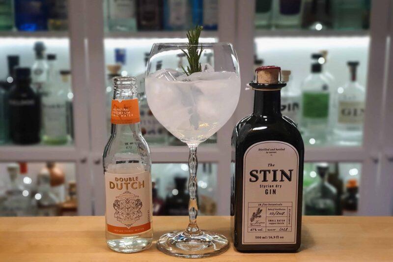 Gin og Tonic med Stin Styrian Gin