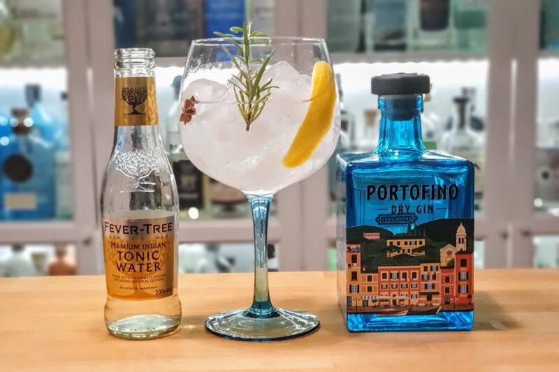 Klassisk Gin og Tonic med Portofino Dry Gin