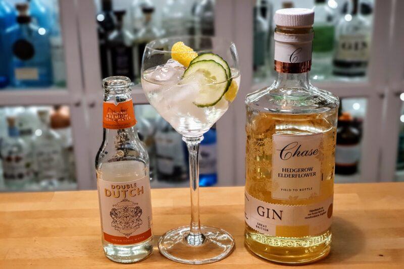 GT med Chase Hedgerow Elderflower Gin