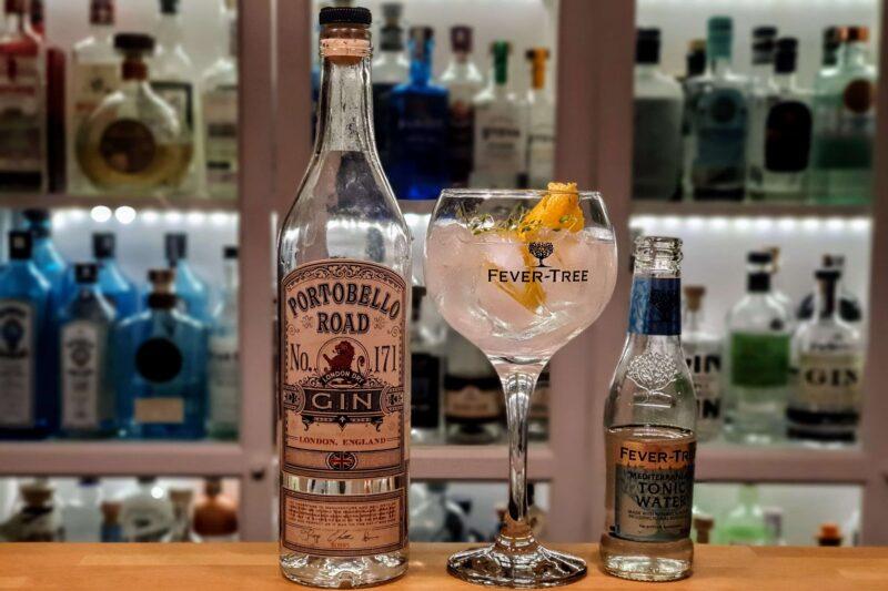 Gin Tonic med Portobello Road Gin No.171
