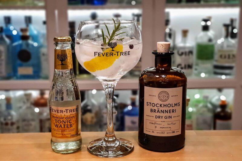 Gin Tonic med Stockholms Brenneri Dry Gin