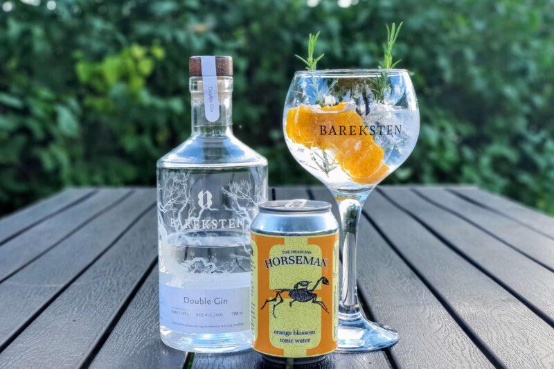 Gin og Tonic med Bareksten Double Gin