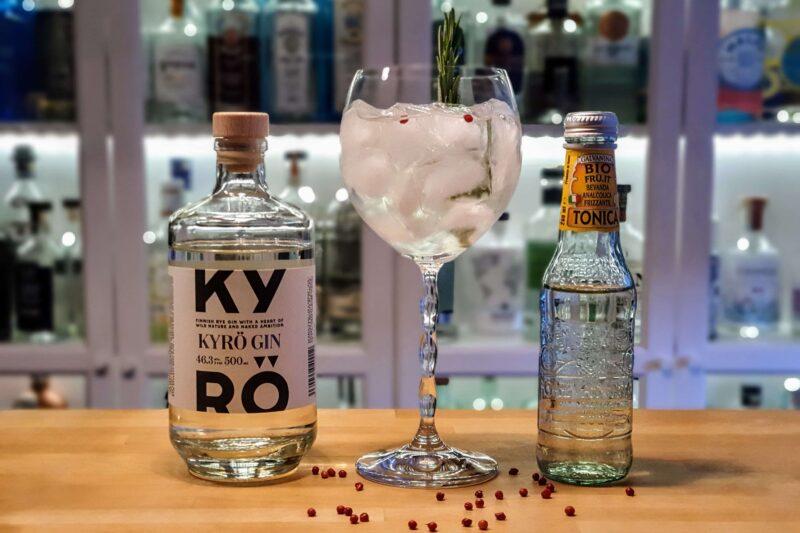 Gin og Tonic med Kyrö Gin