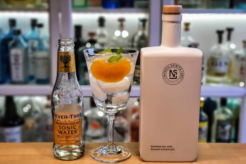 Gin og Tonic med Nordic Spirits Lab Nordic Gin