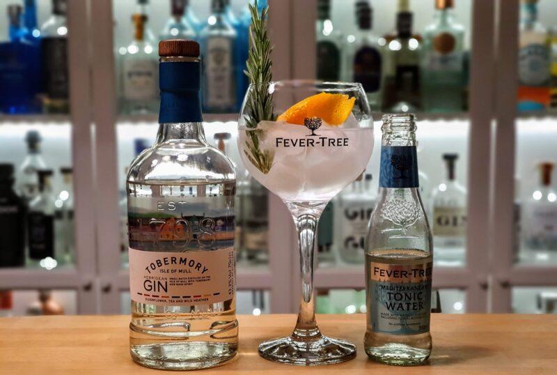 Gin og Tonic med Tobermory Gin