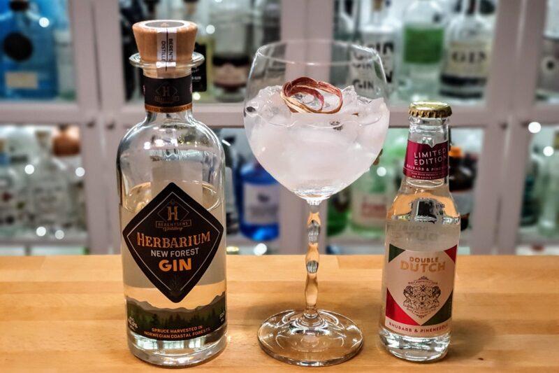 Herbarium New Forest Gin med rabarbra