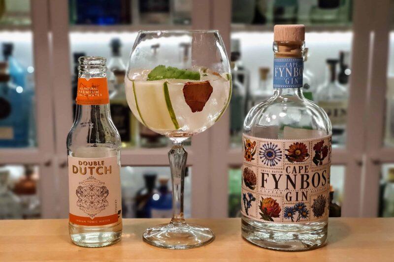 Sommerlig Gin og Tonic med Cape Fynbos Gin
