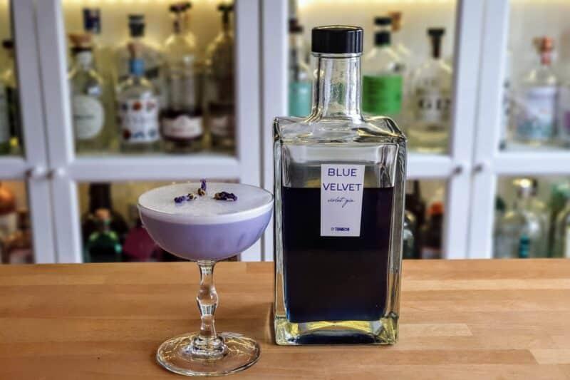 White Lady med Blue Velvet Violet Gin