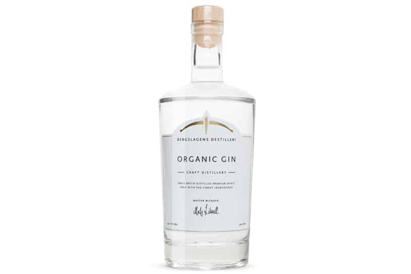 passer til Bergslagens Organic Gin