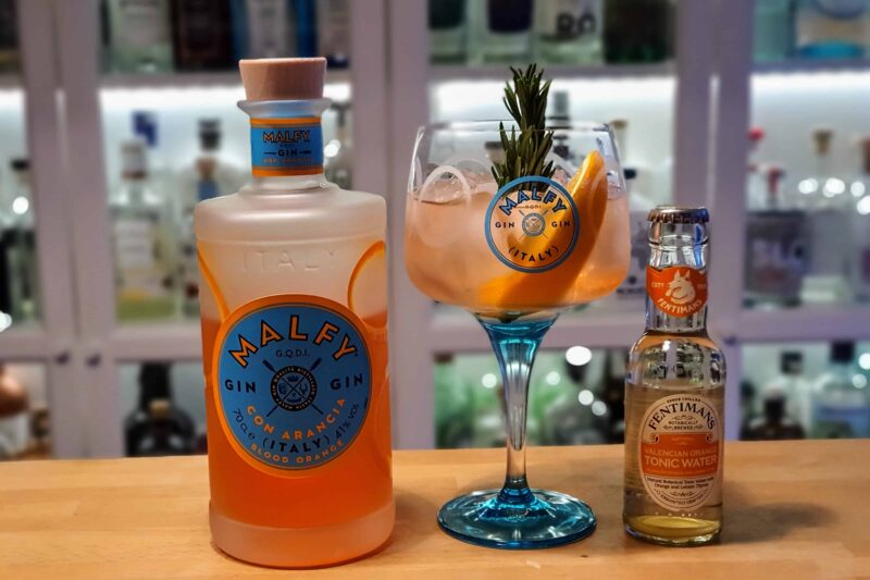 Appelsin GT med Malfy Gin Con Arancia