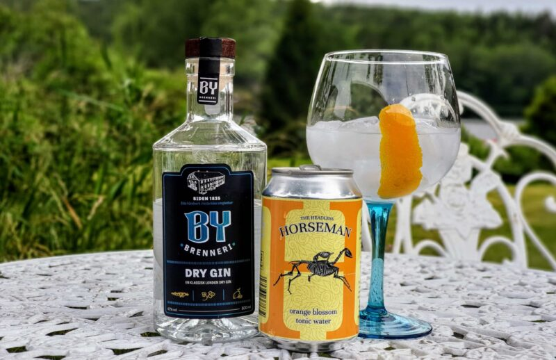 Gin Tonic med By Brenneri Dry Gin