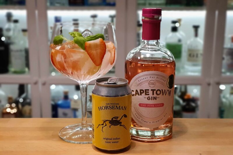Gin Tonic med Capetown The Pink Lady Gin